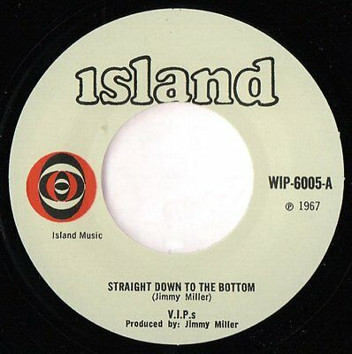 """THE V.I.P.'s - """"Straight Down To The Bottom"""" MOD CLASSIC - HEAR IT"""