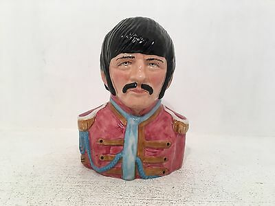 Manor Collectables Ringo Starr Limited Edition Toby Jug 364 of 1967 *MINT*