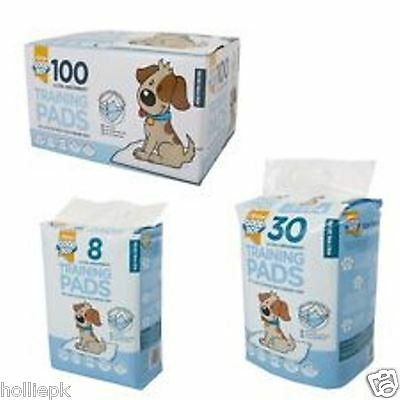 Ultra Absorbent Puppy Dog Training Pads 3 Layer Protection Tear Resistant