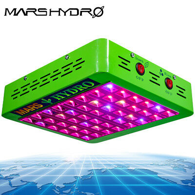 Mars reflector 240W LED grow light 12-Band Full Spectrum Indoor Veg/Flower Hydro