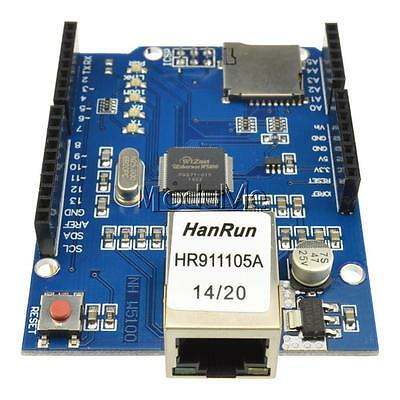 Ethernet Shield W5100 R3 Network Expansion Board For Arduino UNO Mega2560 MO