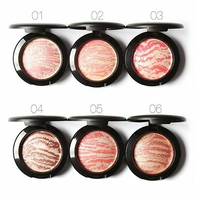 Fashion Women Lady Beauty Makeup Cosmetic Blush Blusher Powder Palette Cosmetics
