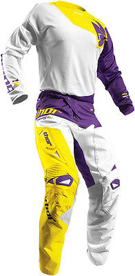 Completo Cross Thor Fuse Air Pinin S7 Offroad White/purple