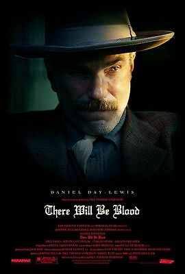 THERE WILL BE BLOOD 11.5x17 PROMO S/S MOVIE POSTER