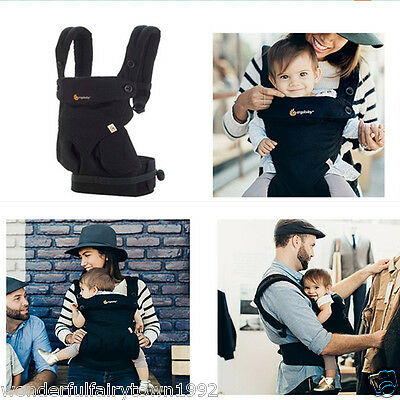 New Ergo 360 Four Position Breathable Baby Carrier With Box