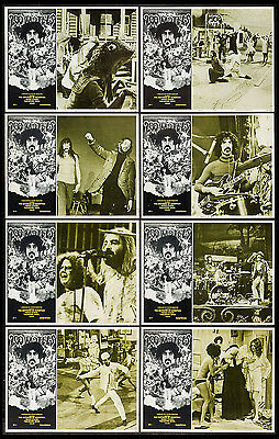 200 Motels Frank Zappa Mother Of Invention 1971 Lobby Card Set Of 8