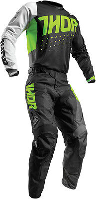 Completo Cross Thor Pulse Aktiv S7 Offroad Lime/black