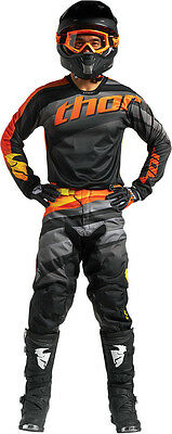 Completo Cross Thor Pulse Velow S7 Offroad Black/orange