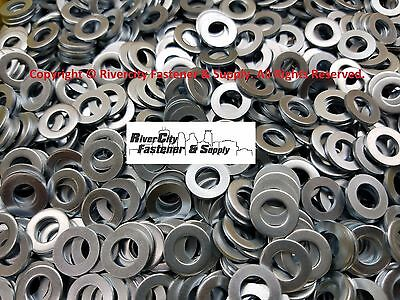 (250) M8 Metric Steel Flat Washer ID: 8mm  OD: 16mm Zinc Plated Steel Washers