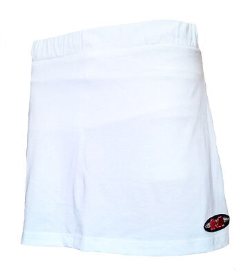 Womens Large TK Ghent Skort WHITE Hockey Netball Tennis skirt AM