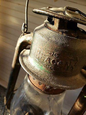 Antique Beacon Railroad ,barn Lantern