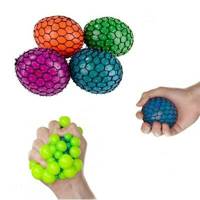 """2"""" Squishy Mesh sensory stress reliever ball toy autism squeeze anxiety fidget"""