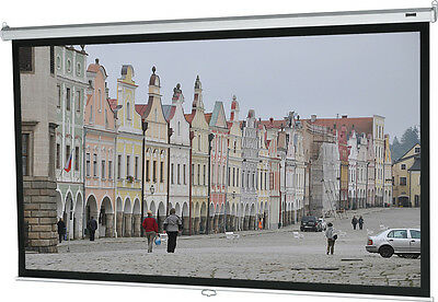 Da-Lite 92738 Deluxe Model B 50x67 Inch High Contrast Matte White Video Screen