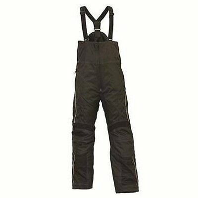 Men's Snowmobile Black Adventure Bib Pant