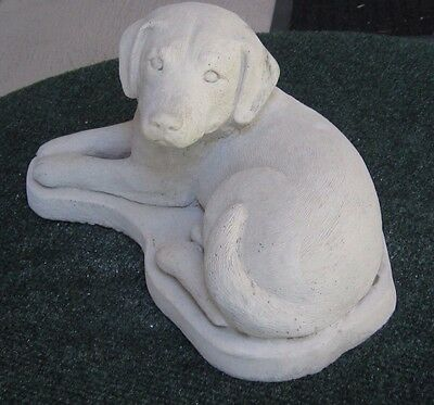 Concrete Labrador Dog Statue Or Use As A Monument