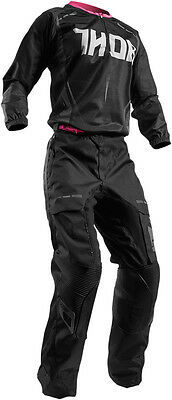 Completo Donna Cross Thor Terrain Contour S7 Offroad Black/pink