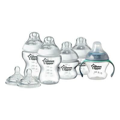 Tommee Tippee Closer to Nature Bottle Feeding Starter Kit: Includes Bottles and