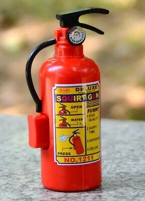 New Fire Extinguisher Water Squirt Gun Handheld Toy US Seller