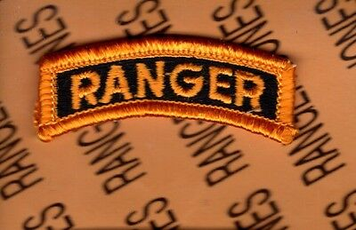US Army RANGER Qualification tab arc patch B m/e