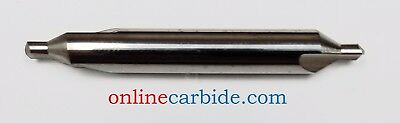 Lot Of 3 Pcs No. 4 60 Degree Carbide Center Drill