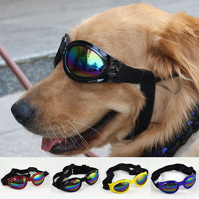 Cool Pet Dog Fashion Anti-wind Glasses Eye Wear Protection Goggles UV Sunglasses