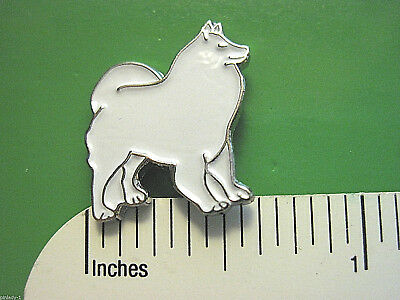 Samoyed -   hat pin , lapel pin , tie tac , hatpin  GIFT BOXED