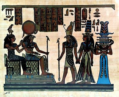 Egyptian Papyrus Paper Pharonic Art Royal Temples Tombs Made in Egypt EA21