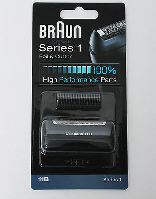 BRAUN Mens Shaver 11B Foil & Cutter 110 120 130 140 150 etc Replacement NEW