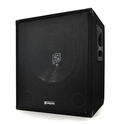 "Great 15"" Active subwoofer capable of 600 watt peak power"