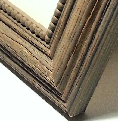 *MADE IN ITALY* 32 ft - Distressed Tree Bark Picture Frame Moulding, 3 Colors