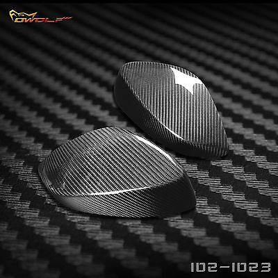 for Toyota GT86 Subraru BRZ Real Carbon Fiber Side Mirror Covers Cases