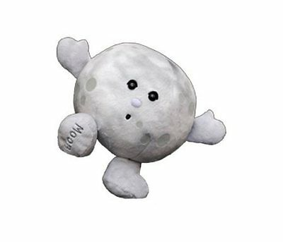 Celestial Buddies Moon Plush Educational Toy13cm Astronomy Science