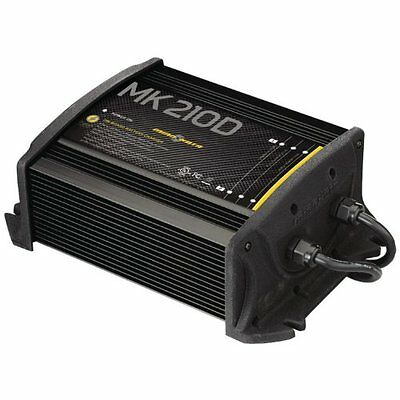OpenBox MinnKota MK 210D On-Board Battery Charger 2 Banks, 5 amps per bank