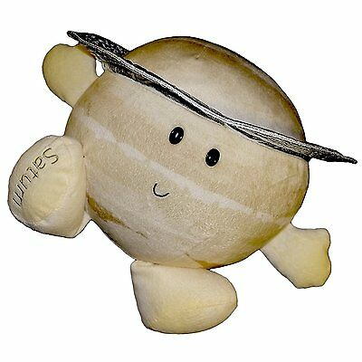 Celestial Buddies Saturn Planet Plush Educational Toy18cm Astronomy Science
