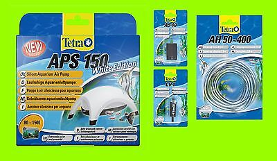 Tetra APS 150 SET Aquarienluftpumpe white Edition Luftpumpe für 80-150l Aquarium