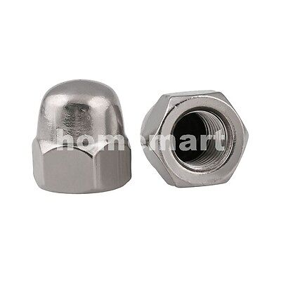 M3-M10 304 Stainless Steel A2 Hex Domed Nut Acorn Cap Nuts M3 M4 M5 M6 M8 M10 HQ