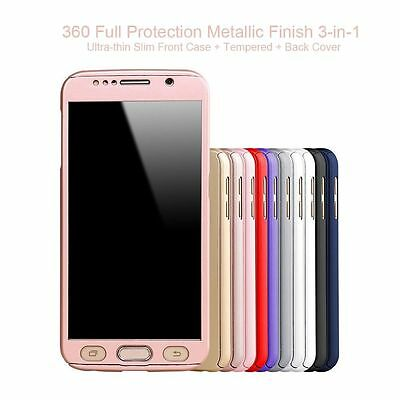Shockproof 360° Hybrid Case For Samsung Galaxy S7/ S7 Edge Ultra Thin Back Cover