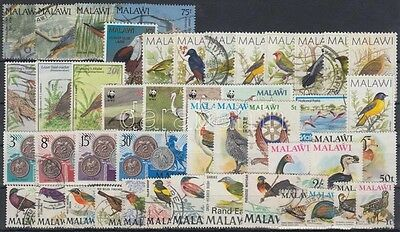 Malawi stamp 1968-1997 Birds 45 diff stamps with sets 1968 Used WS211777