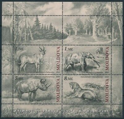 Moldavia stamp Animals block 2010 MNH Mi 51 WS213548