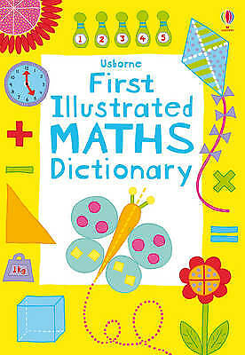 First Illustrated Maths Dictionary (Usborne Dict, Kirsteen Rogers, New