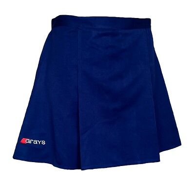 "Womens 34"" GRAYS Skirt NAVY Hockey Netball Tennis Blue"