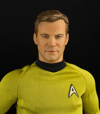 Star Trek TOS Captain Kirk 1/6 Scale Articulated Figure by QMX 26TQX01