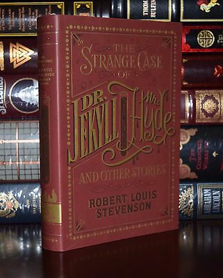 The Strange Case Of Dr. Jekyll And Mr. Hyde Leather Bound Collectible Edition