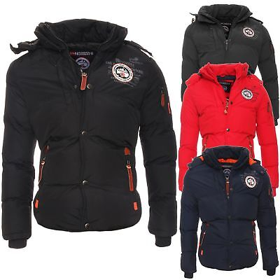 Geographical Norway Herren Winterjacke Venise warm gefüttert Jacke Outdoor