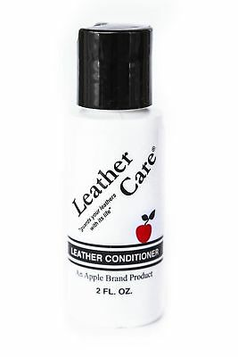 Apple Brand Leather Care Conditioner Wax-Free Preservative  - 2 oz