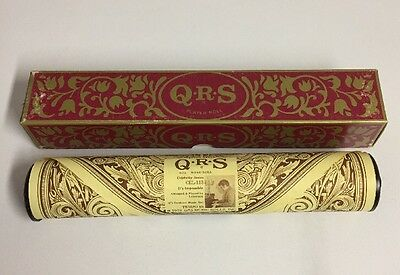 Vintage QRS Player Piano Roll CEL-113 It's Impossible by Liberace in Box