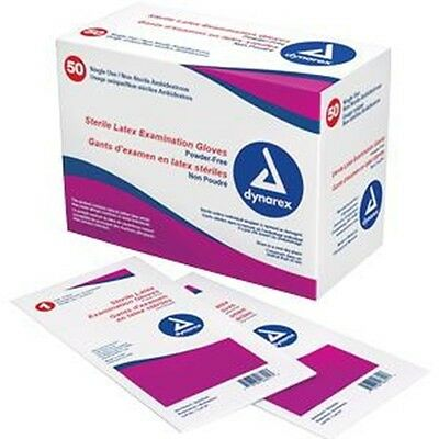 Dynarex Sterile Powder-Free Latex Exam Glove