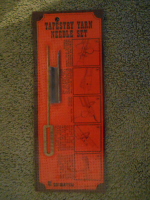 VTG Rug Crafters~Speed Tufting Tool Replacement Needle Set