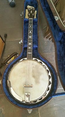 1925-1926 The Gibson Model Banjo Diamond Flange Style 2 Inlay Make offer!