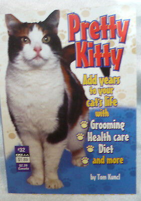 2003 Cat PRETTY Kitty GUIDEBOOK Grooming HEALTH Care DIET More!!